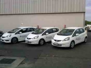 Our new fleet of vehicles